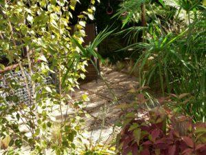 Jardines dentro del jardín.
